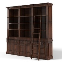 Eichholtz Cabinet King William Classic Library Stair Book